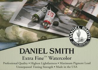 Informations Sur Ma Palette Daniel Smith